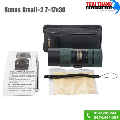 Ống nhòm Mini Konus Small 2 7-17x30